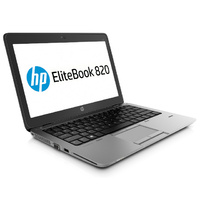 "HP EliteBook 820 G1 12"" Laptop i5-4300U 1.9GHz 8GB Ram 180GB SSD W10P image"