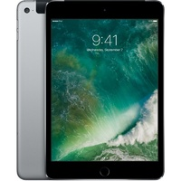 Apple iPad mini 4 16GB, Wi-Fi + Cellular (Unlocked), 7.9in Space Grey (AU Stock)