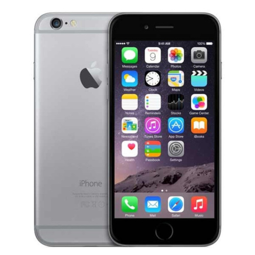 OK Condition - Apple iPhone 6 - 64GB - Space Grey (Unlocked) A1586 (CDMA + GSM)